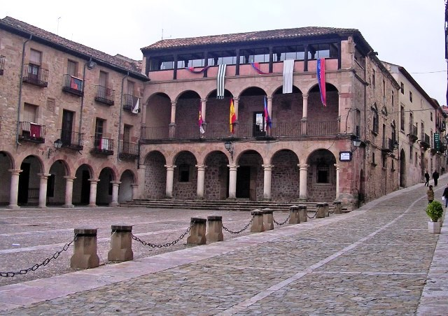 Plaza Mayor de Sigüenza.