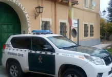 Casa cuartel de la Guardia Civil de Zaorejas. (Foto: Guardia Civil)